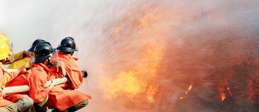 Soluções de prevenção e combate a incêndios